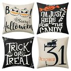 4 Pack Halloween Pillow Case Covers 1818 Inch Sofa Home Party Decor