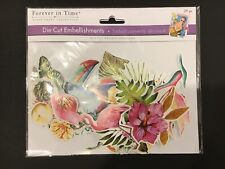 Paper Tropical Flowers and Birds Die-cuts 29 pieces