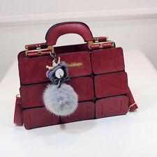 Damen Handtasche Umhängetasche Große Handtaschen Schultertasche Kunstleder Mode