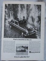 1966 Peugeot Original advert No.1