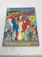 Superman vs Flash Comic Book DC Ltd Collectors Edition Vol 5 C-48 1976 Vintage