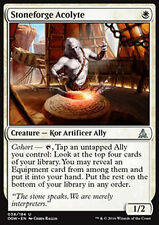 MTG 4x STONEFORGE ACOLYTE - ACCOLITO FORGIAPIETRA - OGW - MAGIC
