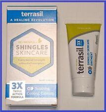 Terrasil Shingles Skin Care 3x Triple Action Formula, All Natural - 1.5oz. 03/22