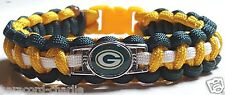 Green Bay Packers Handmade Paracord Bracelet or Lanyard or Deluxe Key Chain