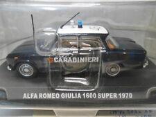 ALFA ROMEO GIULIA 1600 SUPER 1970 CARABINIERI DeAGOSTINI 1/43