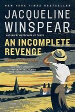 An Incomplete Revenge by Jacqueline Winspear (2008, Paperback, Reprint)