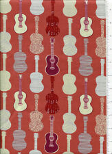 retro ~ GUITAR ~ a musical affair FABRIC FEEDOM instruments rust
