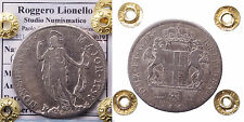 AA454-GENOVA - Repubblica - 4 Lire 1797 - R