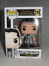 Funko Pop Disney Pirates Of The Caribbean Captain Salazar Vinyl Figure-New