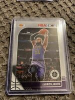 2019-20 PANINI NBA HOOPS PREMIUM STOCK LEBRON JAMES BASE LAKERS No. 87