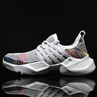 Men's Athletic Sneakers Outdoor Casual Sports Track Shoes Breathable Running Jog