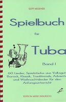 Noten: Spielbuch für Tuba Band 1 Tuba-Spielbuch Tuba-Noten Tubaspass Basstuba