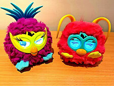 Furby Babies Party Rocker Pink & Purple Interactive Electronic Pets, Hasbro 2012