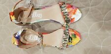 Lovely Multi Colour Ladies Shoes by Lilley size 7 Excelent Condition
