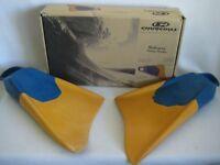 Churchill Makapuu Swim Fins Yellow Blue XL 13-14.5 US