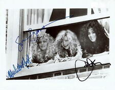 THE WITCHES OF EASTWICK.. Susan Sarandon, Michelle Pfeiffer, and Cher - SIGNED