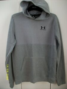 Boys. YXL. UNDER ARMOUR Hoodie. Grey. EXC Cond.