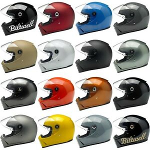 Biltwell Lane Splitter Motorcycle Helmet - CHOOSE SIZE