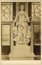 Europe, Statue de marbre représentant l Espagne, ca.1880, Vintage albumen print