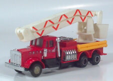 "Kenworth Fire Department Engine Snorkel Bucket Truck 6.5"" Die Cast Scale Model"