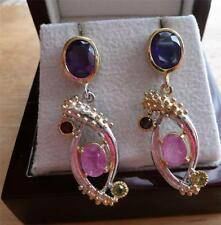 Treated Stone Sterling Silver Ruby Fine Jewellery
