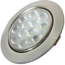 Flache LED Einbauleuchte Lina 12Volt Möbelstrahler 3W = 30W Einbaustrahler EEK A