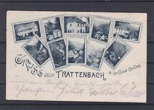 Gruss aus Trattenbach an der Enns Mehrbildkarte gelaufen 1897