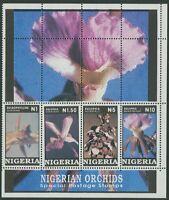 NIGERIA: ORCHIDS 1993 - MNH MINIATURE SHEET (G23-PB)