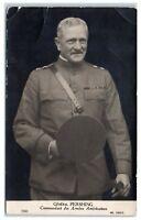 RPPC US Army General John Blackjack Pershing French Postcard
