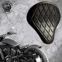 Selle solo Indian Scout dp`17 plaque de montage+ressorts Std noir V3 L