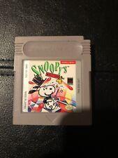Snoopy's Magic Show (Nintendo Game Boy, 1990)