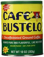 Bustelo Decafeinated Cuban Coffee. Vacuum Can 10 oz