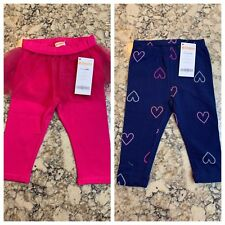 Gymboree Girls Two Piece Leggings Bottoms Lot, Size 6-12 mos., NWT