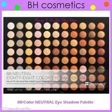 NEW BH Cosmetics 88-Color NEUTRAL Eye Shadow Palette FREE SHIPPING Warm Nude NIB