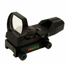 Truglo Dual Color Open Red-Dot Sight, Black Tg8370B
