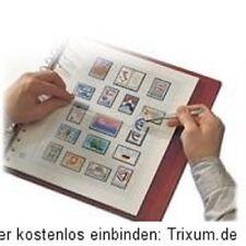 Safe Dual Vordruckblätter Bund BRD 1996 - 2001 komplett mit 58 Vordruckblätter