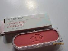MARY KAY POWDER PERFECT Cheek Color NEW .2 oz coral 6208
