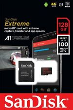 SanDisk Extreme microSDXC 128 GB Class 10 UHS-I U3 A1 100 MB/s mit SD-Adapter