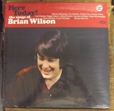 HERE TODAY! THE SONGS OF BRIAN WILSON comp. LP SEALED color vinyl UK import Ace