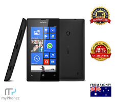 "Nokia Lumia 520 Windows 8 8GB 512MB RAM 4"" Color Display BLACK Cheap Smart PHONE"