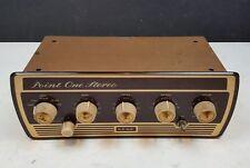 Leak Point One Stereo Valve Vintage HiFi Pre-Amp Amplifier 1960s Mullard Tube