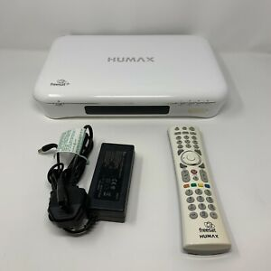 Humax HDR-1010S 1TB DVR Satellite Receiver - White - Includes Remote/Mains Cable
