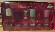 6 piece Elizabeth Arden Mini EDP Set Sunflowers, Red Door, 5th Ave, Pretty, Tea