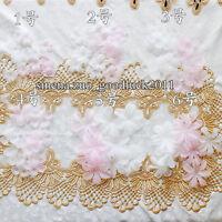 20pc, Organza Ribbon Flower Appliques Crafts headdress sewing decoration FL53