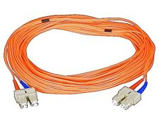 Fiber Optic Cable, SC/SC, Multi Mode, Duplex - 15 meter (62.5/125 Type) - Orange
