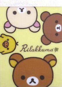 San-X Let's Enjoy Your Happy Life with Rilakkuma Mini Memo Pad (Yellow)~KAWAII!!