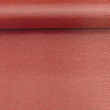 Colored CARBON Fibre Cloth Red KEVLAR Fabric Plain Weave Material 127cm x 28cm