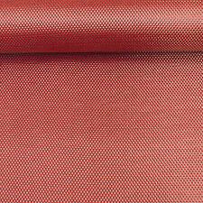 COLORATE Panno in fibra di carbonio rosso Kevlar in tessuto ad armatura a tela materiale 127cm x 28cm
