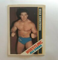 Brad Armstrong - Wrestling All Stars 42 Trading Card Played Condition