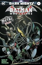 BATMAN WHO LAUGHS #1 SOLD OUT FOIL FIRST PRINT DARK METAL COMIC BOOK 2017